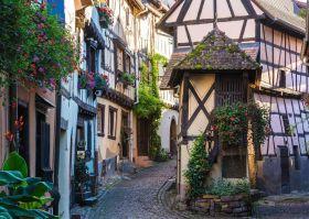 Puzzle 1000 Pezzi  Eguisheim in Alsazia | Puzzle Città