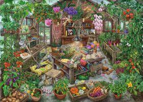 Puzzle 1000 Pezzi Ravensburger The Green House | Escape Puzzle