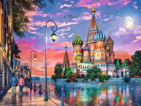 Puzzle 1500 Pezzi Ravensburger Mosca | Puzzle Fantasy