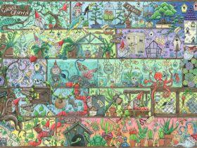 Puzzle 1500 Pezzi Ravensburger Gnomo a Scaffale | Puzzle Fantasy