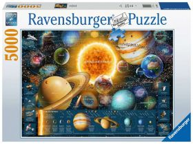 Puzzle 5000 Pezzi Ravensburger Odissea Nello Spazio | Puzzle Composizione - Confezione