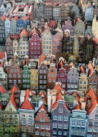 Puzzle 1000 Pezzi Ravensburger Danzica Polonia | Puzzle Città