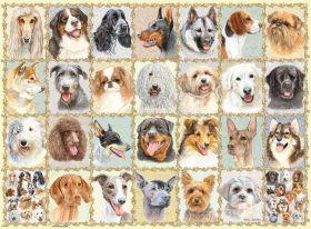 Puzzle 500 Pezzi Ravensburger Ritratti di Cani | Puzzle Animali