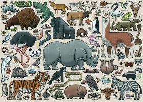 Puzzle 1000 Pezzi Ravensburger Alce d'Inverno | Puzzle Fantasy