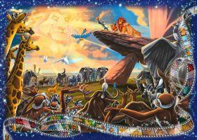 Puzzle 1000 Pezzi Ravensburger Lilli e il Vagabondo | Puzzle Disney