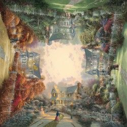 Kinkade Giardino Vittoriano (Puzzle 1000 pezzi Schmidt)