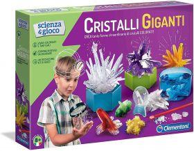 Cristalli Giganti Scienza e Gioco Clementoni