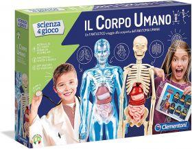 Il Corpo Umano Scienza e Gioco Clementoni