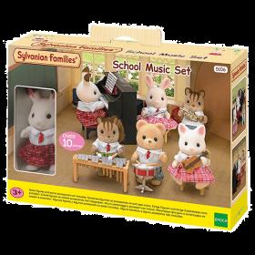 Set Scuola di Musica + Coniglio Cioccolato (Sylvanian Families)