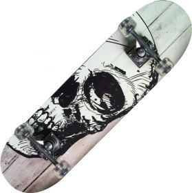 SKATEBOARD Tribe PRO White Skull | Nextreme