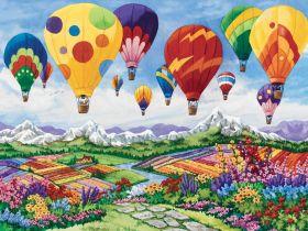 Puzzle Paesaggi 1500 pezzi Ravensburger Spring in the Air