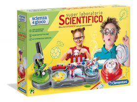 Super Laboratorio Scientifico Scienza e Gioco Clementoni su ARSLUDICA.com