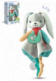 Sweet Bunny Comforter Plush (Prima Infanzia Baby Clementoni) su ARSLUDICA.com