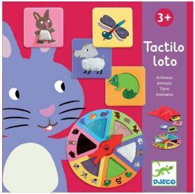 TACTILO LOTO ANIMALI   Gioco da Tavolo Djeco