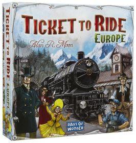 Ticket to Ride Europa Gioco da Tavolo