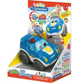 Tobia Auto della Polizia (Infanzia Baby Clementoni)