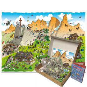 Puzzle Formiche 1000 pezzi Trekking | Puzzle Fabio Vettori