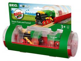 Treno a Vapore e Tunnel 33892 (BRIO Travel)