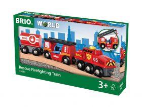 Treno dei Pompieri 33844 (BRIO Rescue)
