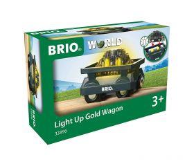 Vagone Luccicante per l'Oro 33896 (BRIO Lift and Load)