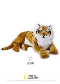 Tigre Super Gigante 100 cm (Peluche National Geographic)