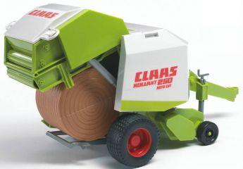 Claas Imballatrice Rotante per Fieno (Gioco Bruder) (Toy)