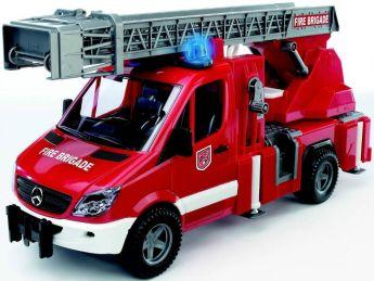 Mercedes Benz Sprinter Autopompa Pompieri (Gioco Bruder) (Toy)