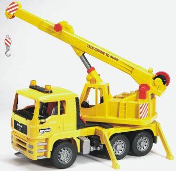 Camion con Gru (Gioco Bruder) (Toy)