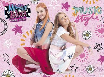 Bianca & Maggie Fashion Friends (Puzzle 200 pezzi XXL Ravensburger)