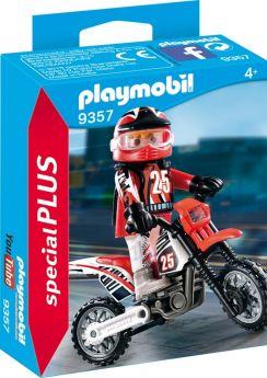 Playmobil 9357 Campione di Motocross (Playmobil Special Plus) (Playmobil)