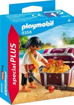 Playmobil 9358 Pirata con Scrigno del Tesoro (Playmobil Figures) (Playmobil)