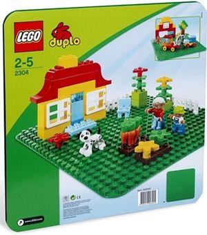 LEGO 2304 Base Verde Duplo (LEGO Duplo) (Lego)