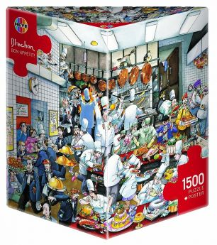 Bon Appétit (Puzzle Heye 1500 pezzi Triangular) (Puzzle)