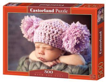 Warm and Cosy (Puzzle 500 pezzi Castorland)