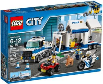 LEGO 60139 Centro di Comando Mobile (LEGO City)