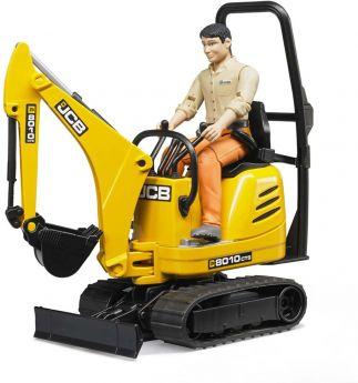 Escavatore JCB 8010 CTS   Gioco Bruder