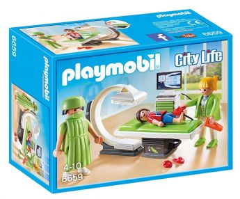 Playmobil 6659 Sala Raggi X (Playmobil City Life)