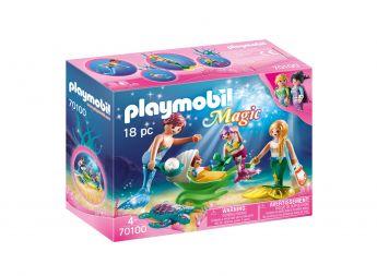 Playmobil 70100 Famiglia di Sirenetti (Playmobil Magic) su ARSLUDICA.com