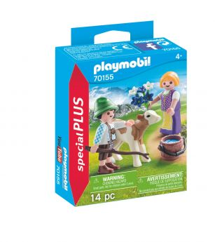 Playmobil 70155 Bambini con Vitellino (Playmobil Special Plus) su ARSLUDICA.com