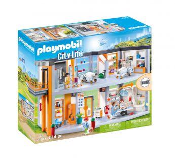 Playmobil 70190 Grande Ospedale (Playmobil City Life) su ARSLUDICA.com