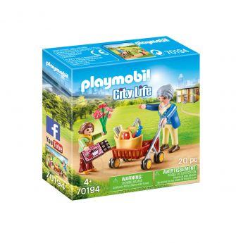 Playmobil 70194 Nonna con Nipote (Playmobil City Life) su ARSLUDICA.com