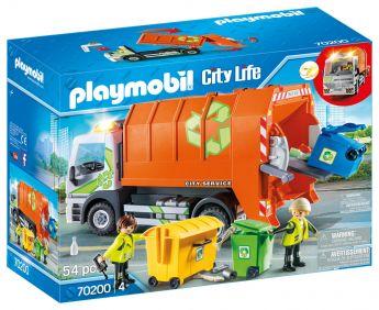 Playmobil 70200 Camion della Raccolta Differenziata (Playmobil City Life) su ARSLUDICA.com