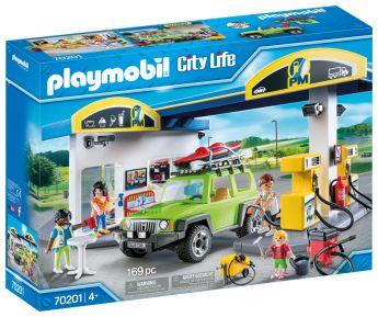 Playmobil 70201 Stazione di Servizio (Playmobil City Life) su ARSLUDICA.com