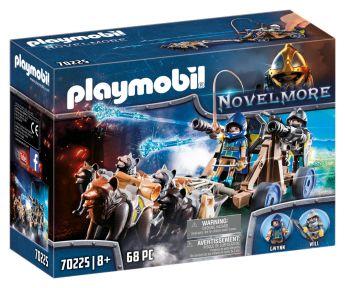 Playmobil 70225 Squadra dei Lupi di Novelmore (Playmobil Novelmore) su ARSLUDICA.com