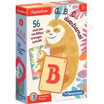 A B C…divertiamo - Sapientino (Gioco Educativo Clementoni)