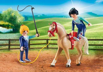 Addestramento Equestre Playmobil Country 6933 su ARSLUDICA.com