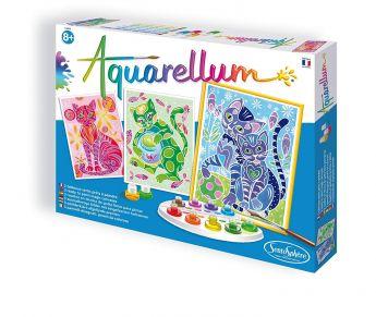 Aquarellum GATTI Set per Dipingere con Acquerelli (Sentosphere)