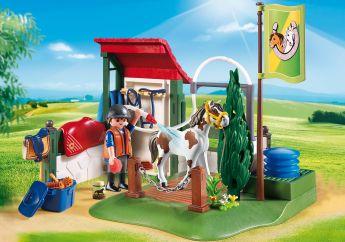Area di Cura dei Cavalli Playmobil Country 6929 su ARSLUDICA.com