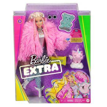 Barbie Extra con Cappotto Rosa Confezione