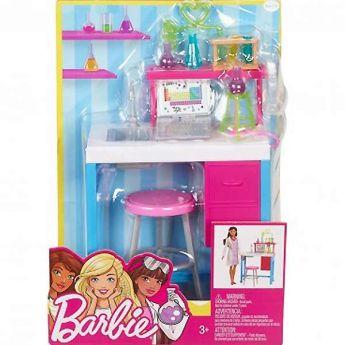 Barbie Laboratorio di Scienze Playset (Barbie Arredamenti)